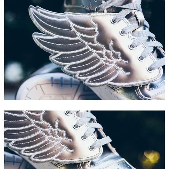c408c0f7cd72 Jeremy Scott x Adidas Shoes - Adidas - Jeremy Scott Wings - Metallic Silver  - 8